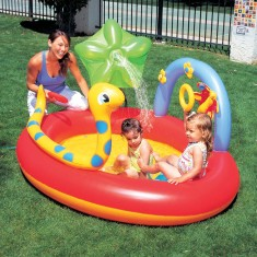 Piscina Inflável 136 l Oval Bestway Play Center 53026