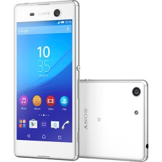 Smartphone Sony Xperia M5 16GB E5643 21,5 MP 2 Chips Android 5.0 (Lollipop) 3G 4G Wi-Fi