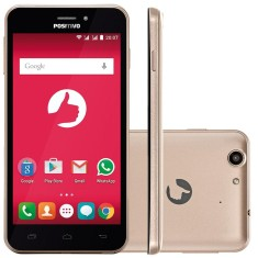 Smartphone Positivo Quattro 8GB X435 5,0 MP 2 Chips Android 5.1 (Lollipop) 3G 4G Wi-Fi