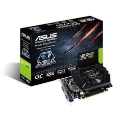 Placa de Video NVIDIA GeForce GTX 750 2 GB GDDR5 128 Bits Asus GTX750-PHOC-2GD5