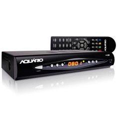 Conversor Digital Full HD HDMI USB DTV 8000 Aquário