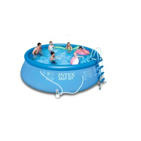 Piscina Inflável 14.141 l Redonda Intex Easy Set