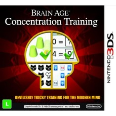 Jogo Brain Age: Concentration Training Nintendo 3DS