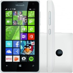 Smartphone Microsoft Lumia TV Digital 8GB 435 Dual DTV 2,0 MP 2 Chips Windows Phone 8.1 Wi-Fi 3G