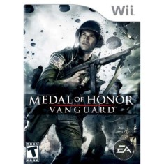 Jogo Medal of Honor: Vanguard Wii EA
