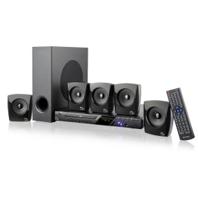 Home Theater Multilaser com DVD 120 W 5.1 Canais Karaokê SP148