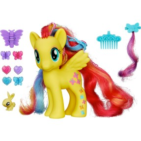 Boneca My Little Pony Fluttershy Fashion Deluxe Hasbro