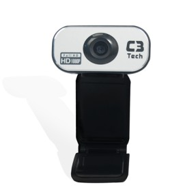 WebCam C3 Tech 12 MP Filma em Full HD WB383