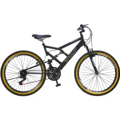 Bicicleta Mountain Bike Colli Bikes Renault 21 Marchas Aro 26 Suspensão Full Suspension Freio V-Brake 548