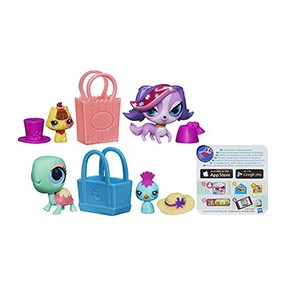Boneca Littlest Pet Shop Shopping Sweeties Hasbro