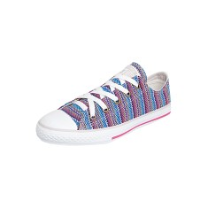 Tênis Converse All Star Infantil (Menina) Casual CT As Stripes Ox