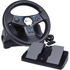 Volante PS2 NASCAR Racing Wheel - Logitech