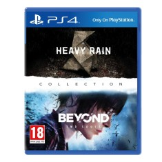 Jogo The Heavy Rain & Beyond Two Souls Collection PS4 Sony