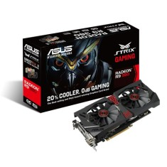 Placa de Video ATI Radeon R9 380 2 GB GDDR5 256 Bits Asus STRIX-R9380-DC2OC-2GD5-GAMING