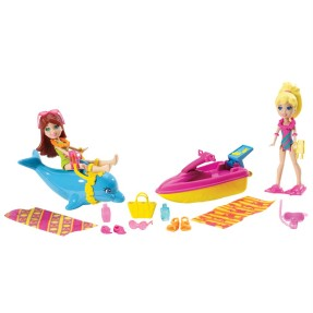 Boneca Polly Tropical Play Day Mattel