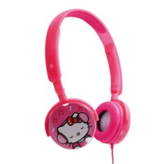 Headphone Hello Kitty KIT-HFPROS Ajuste de Cabeça