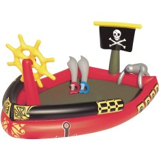 Piscina Inflável 212 l Oval Bestway Play Center Piratas 53041