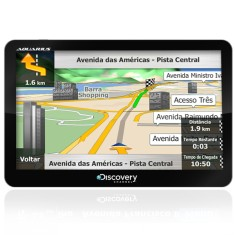 "GPS Automotivo Aquarius Discovery Channel MTC3572 7,0 "" TV Digital"