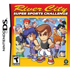Jogo River City Sports Challenge Aksys Games Nintendo DS