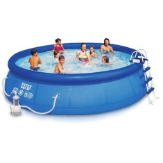 Piscina Inflável 12.430 l Redonda Intex Easy Set 56408