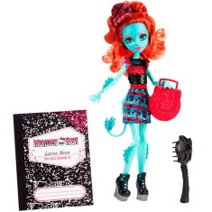 Boneca Monster High Lorna McNessie Intercâmbio Monstruoso Mattel