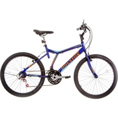Bicicleta Houston 21 Marchas Aro 26 Freio V-Brake Atlantis Land