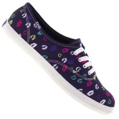 Tênis Keds Feminino Casual Champion Kisses