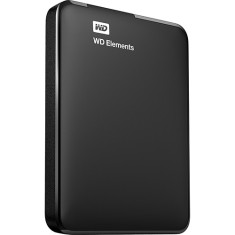 HD Externo Portátil Western Digital Elements WDBBEP0010BBL 1 TB