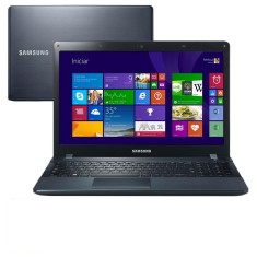 "Notebook Samsung ATIV Book 2 Intel Core i3 4005U 4ª Geração 4GB de RAM HD 1 TB 15,6"" Windows 8.1 270E5J-KD1"