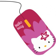 Mouse Óptico USB SKR-84809M - Hello Kitty