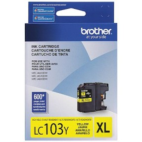 Cartucho Amarelo Brother LC103Y