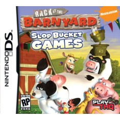 Jogo Back At The Barnyard Slop Bucket Games THQ Nintendo DS