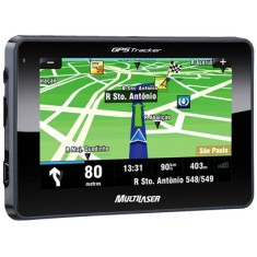 GPS Automotivo Multilaser Tracker GP011 4,3 ""