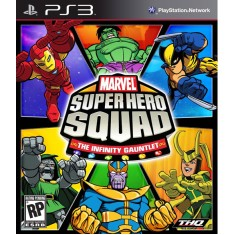 Jogo Marvel Super Hero Squad: The Infinity Gauntlet PlayStation 3 THQ