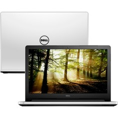 "Notebook Dell I15-5558-D30 Intel Core i5 5200U 15,6"" 4GB HD 1 TB"