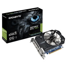 Placa de Video NVIDIA GeForce GTX 750 Ti 1 GB GDDR5 128 Bits Gigabyte GV-N75TOC-1GI