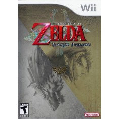Jogo The Legend of Zelda Twilight Princess Wii Nintendo