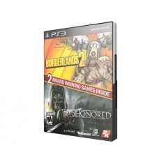 Jogo Borderlands 2 e Dishonored PlayStation 3 2K