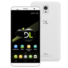 Smartphone DL Eletrônicos 8GB YZU DS3 5,0 MP 2 Chips Android 4.4 (Kit Kat) 3G Wi-Fi