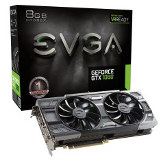 Placa de Video NVIDIA GeForce GTX 1080 8 GB GDDR5X 256 Bits EVGA 08G-P4-6284-KR