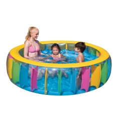 Piscina Inflável 736 l Redonda Bestway Multi color