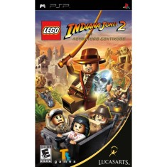 Jogo Lego Indiana Jones II The Adventure Continues LucasArts PlayStation Portátil