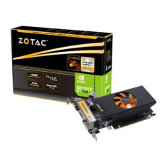 Placa de Video NVIDIA GeForce GT 740 2 GB DDR3 128 Bits Zotac ZT-71006-10L