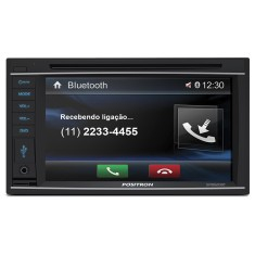 "Central Multimídia Automotiva Pósitron 6 "" SP8520BT"