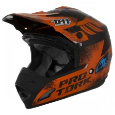 Capacete Protork TH1 Insane 5 Off-Road