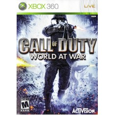 Jogo Call Of Duty 5 World At War Xbox 360 Activision