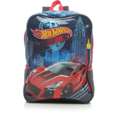 Mochila Escolar Sestini Hot Wheels 16M G 63861