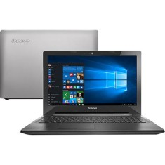 "Notebook Lenovo G Intel Core i5 5200U 5ª Geração 8GB de RAM SSD 240 GB 15,6"" Radeon R5 M230 Windows 10 Home G50-80"
