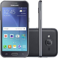 Smartphone Samsung Galaxy J2 8GB J200M 5,0 MP 2 Chips Android 5.1 (Lollipop) 3G Wi-Fi 4G