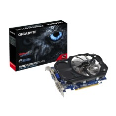 Placa de Video ATI Radeon R7 240 2 GB DDR3 128 Bits Gigabyte GV-R724OC-2GI (rev. 2.0/2.1)